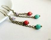 Ethnic Colorful  Earrings