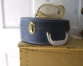 Child's Hat Box Navy Blue