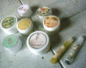 Beauty sample pack - 9 products - anti aging, moisturizing, exfolliating, cleansing, toning