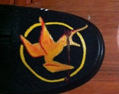 The Hunger Games hand-painted, customized shoes