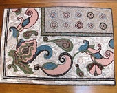 Paisley Hooked Rug