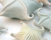 Yellow carved porcelain starfish - robertapolfus