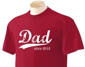 Vintage Dad (any year) - Deep Red - Mens - Size Large