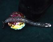 Swarovski Crystal SilverSilk Wrap