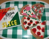 Fresh Pizza Coaster Set