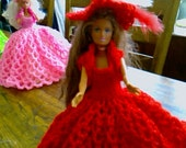 New Handmade  VICTORIAN STYLE BALLGOWN clothes for Barbie Dolls designed and made by nannycheryl  913 x 00