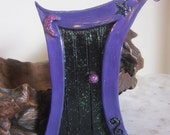 Fairy Door - Magical Moon (Purple/Black) - FairyCyn