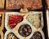 Indian spice box - perfect for the foodie in your life (Cochin, India)  - 8x12 Metal Print - OrderFromChaosPhoto