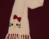 Hello Kitty Knit Scarf - Made To Order
