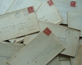 Antique Lot of Love Letters from Rip to Miss Dolly - reginasstudio