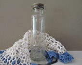 Glass Bottle - Vintage 20th century - Ink - shoe polish - housewares- - molliebrown