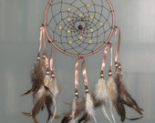 "7"" Brown dream catcher"