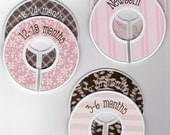 Custom Closet Divider - Girly Girl - Matte - 6 pc. set