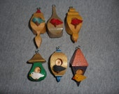 Whimsical Birdhouse Ornaments