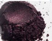 MOTHERS DAY SALE Deep Purple Natural Vegan Sustainable Eyeshadow . Sugar Plum Fairy - RedeemingBeauty