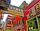 8x10 Urban Archway photo