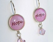 HOPE Earrings dedicated to Breast Cancer Survivors