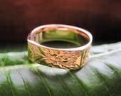 Kaulike - Solid 14k Ring