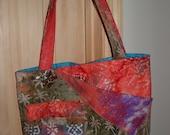 Batik  Butterfly Handbag