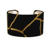Branching Out Fabric Cuff Bracelet