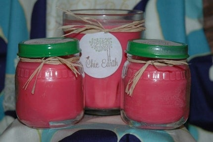 4oz  Apple Spice Soy Upcycled Jar Candle
