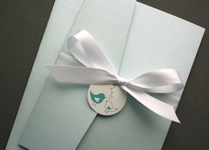 LoveBird Pocket Suite Invitation Set