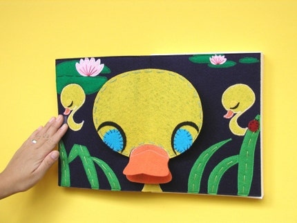 Ducky -- Wall hanging pop-up art for collectors