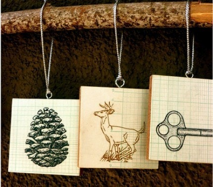 custom tree ornaments by jackie kersh