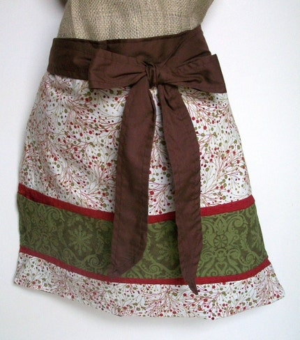 Holiday Half Apron