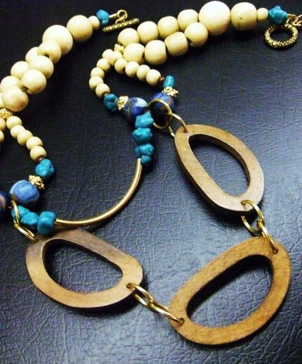 Handcrafted Wooden Necklace