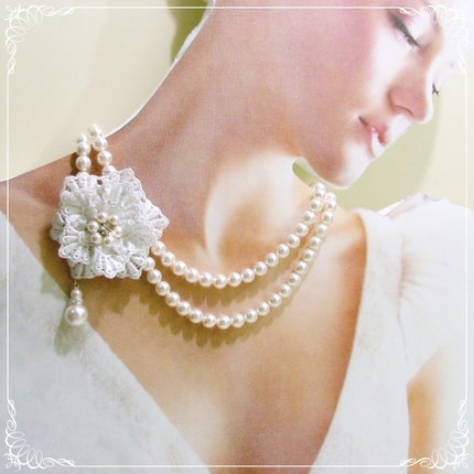 Amelia Collection - 2 strands PEARL necklace