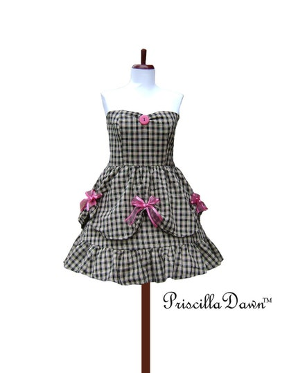Temporarily Reserved Mix it Dress by priscilladawn on Etsy