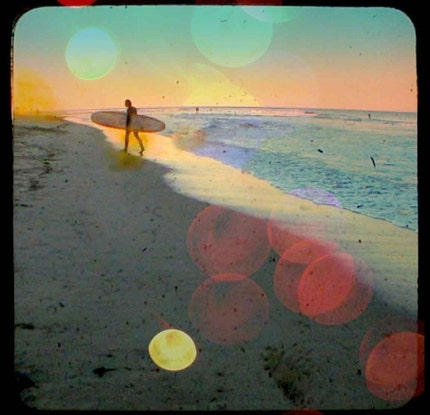 SURFER - 8x8 Limited Edition Fine Art Photographic Print from Etsy