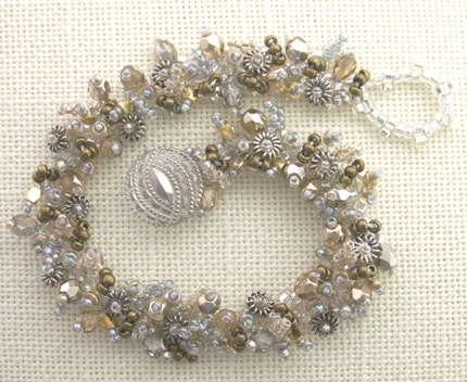bracelet seed beads woven