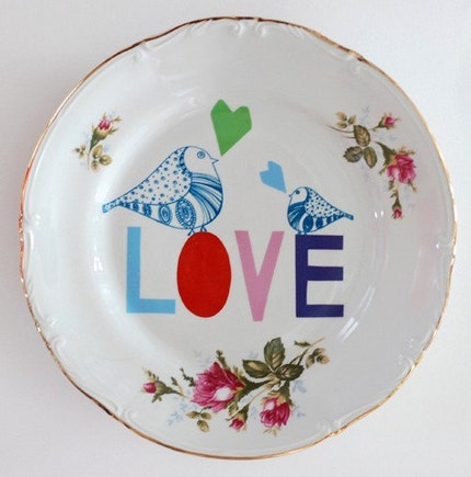Love plate made to order