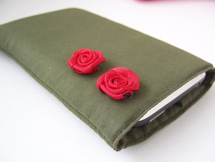 hello roses - iphone/itouch sleeve
