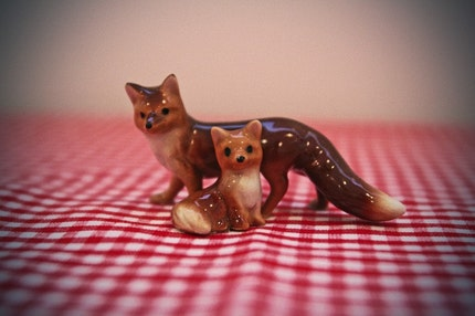 fox picnic print