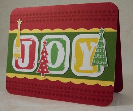 JOY - Holiday Greeting Card