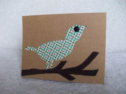 Birds on a Branch - Set of 2 Cards with Envelopes