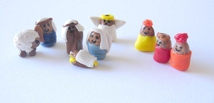The Holy Frijoles The Pinto Bean Nativity Scene