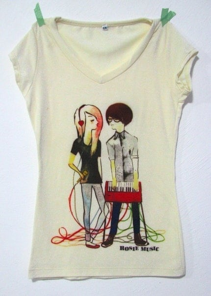 The Lovers T-shirt No transfer White M