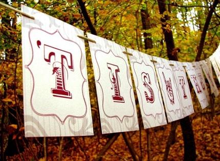 Tis The Season Party Banner