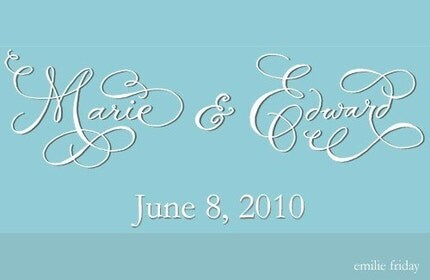 Wedding LOGO Deposit