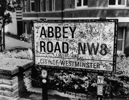Abbey Road. FREE SHIPPING London, England. - Fine art print - 11x14