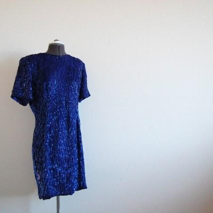 Vintage MOONLIGHT GLITTER Dress