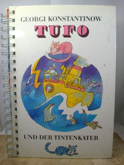Recycled Handmade Journal - Tufo