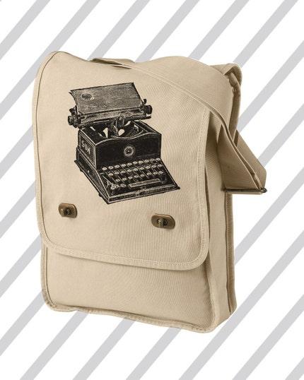 Typewriter Field Bag