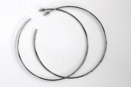 Crazy, Huge Retro 80's Hoop Earrings