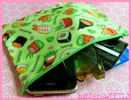 Sushi Lovers Pouch (DSlite, Camera, Cellphone, Cosmetics, etc)