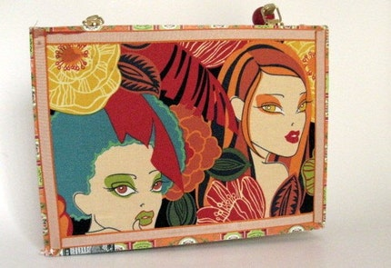 All About Eve Cigar Box Purse